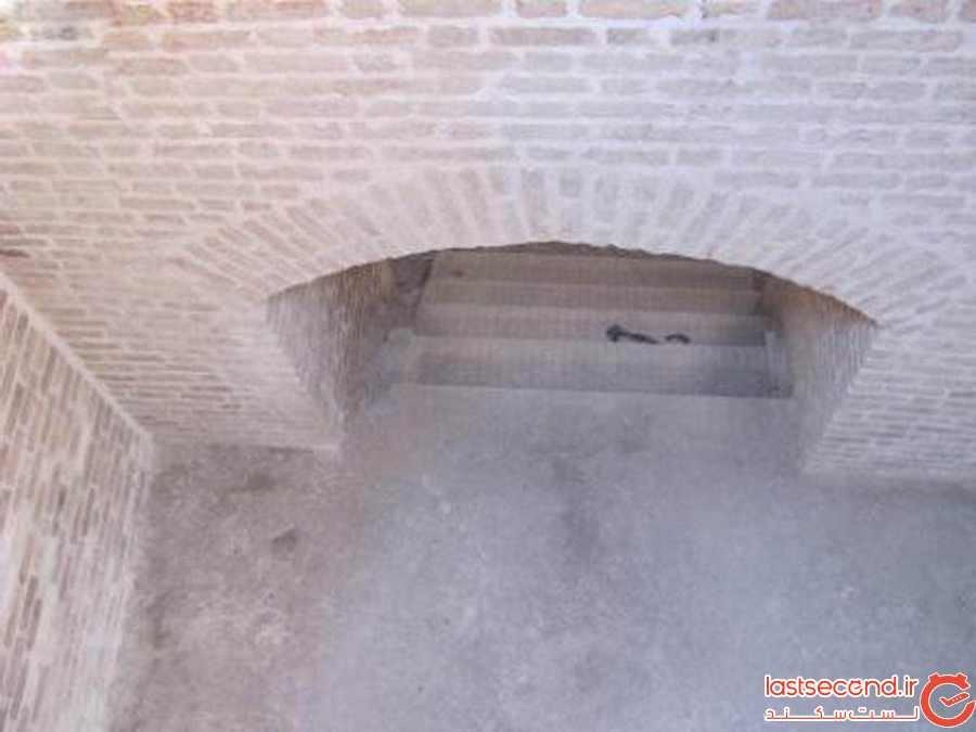 ورودی حمام مصباح