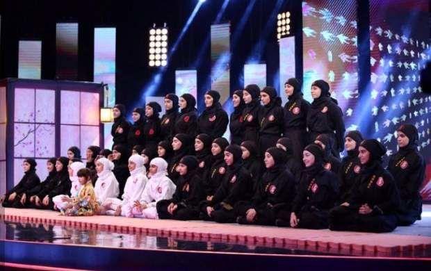 اجرای دختران نینجای البرزی در عصر جدید