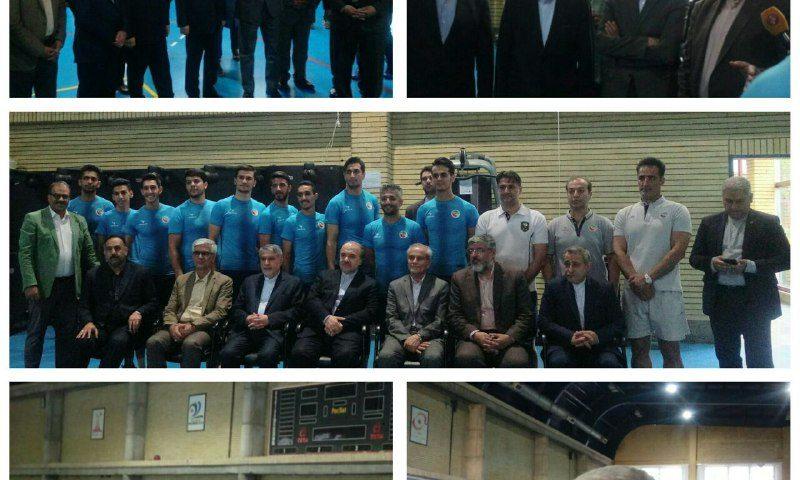 بازدید مسعود سلطانی فر وزیر ورزش و جوانان