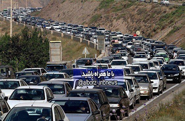 ✅#ترافیک_سنگین در #محورهای_ال