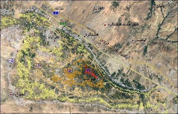 هشدارهای زمینشناسی درباره نشست زمین در البرز