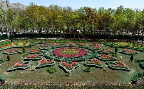 فرش گل خاورمیانه