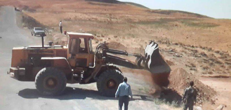 راه آفرود سواران البرزی مسدود می شود