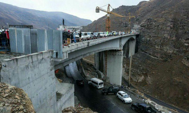 فاز اول آزاد راه تهران به شمال در استان البرز به افتتاح خواهد رسید