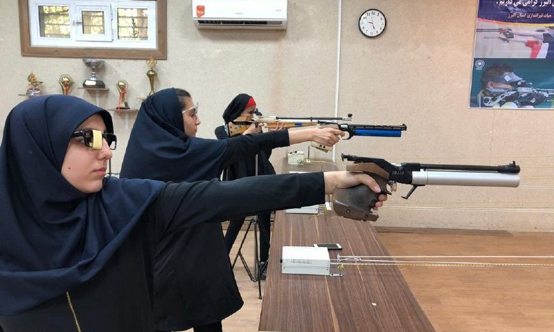 اعزام تیم تیراندازی دختران البرز به دومین المپیاد استعدادهای برتر کشور
