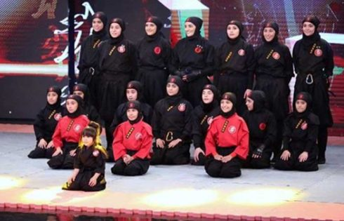 دختران نینجا از استان البرز