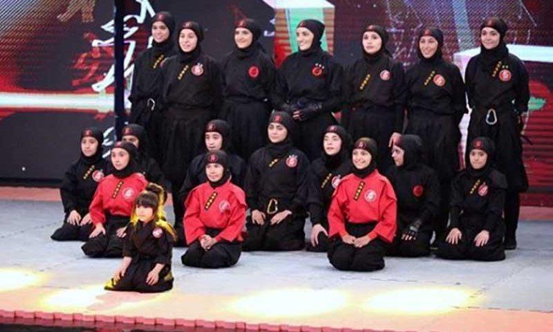 گروه دختران نینجا از استان البرز