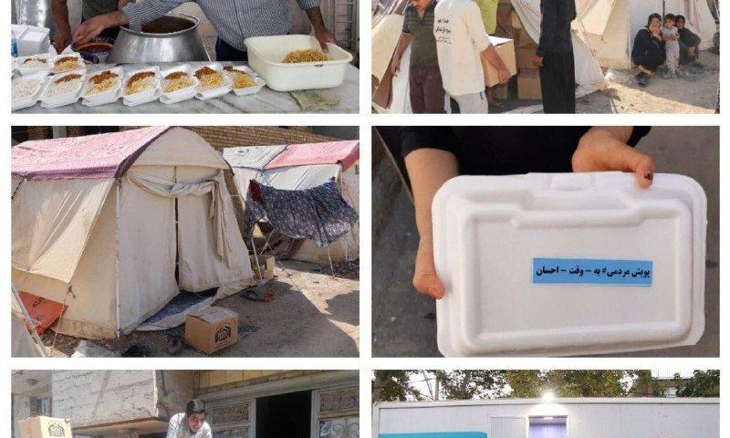 طرح جهادی ۲۱۳هزار اطعام در مناطق محروم کشور