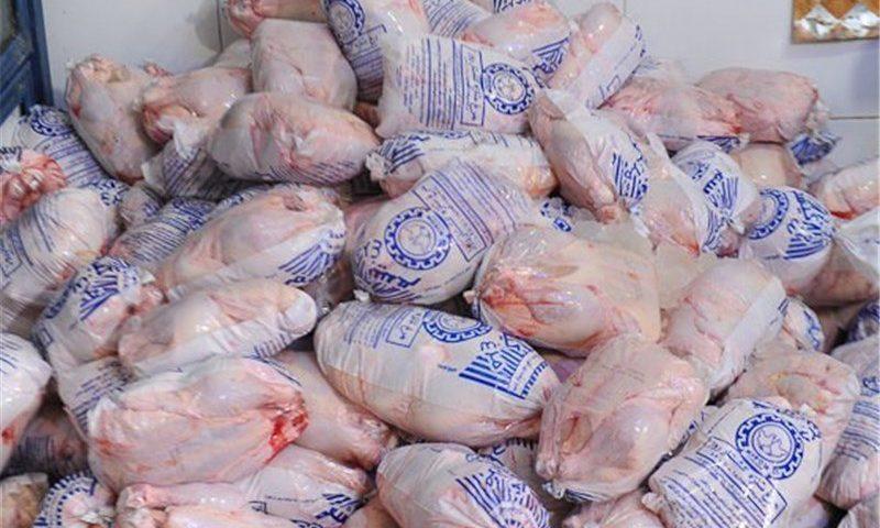 توزیع مرغ ۱۲ هزار و ۶۰۰ تومانی در بازار روزهای کرج