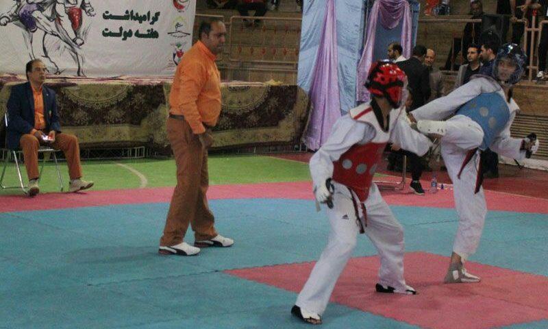 مسابقات تکواندو المپیاداستعدادهای برتر ورزشی نونهالان – قم