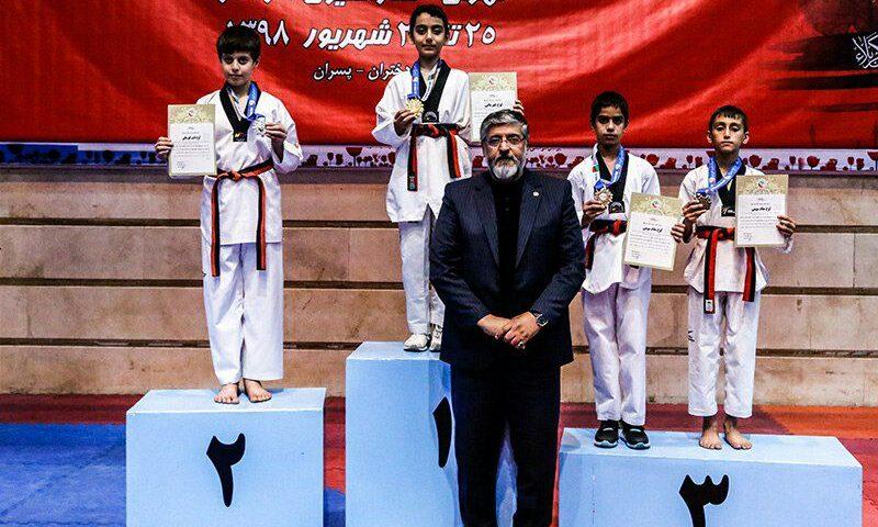 مدال آوران مسابقات قرآنی قهرمانی کشور، خردسالان پسر