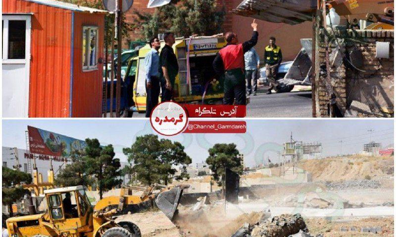 تخریب ساخت و ساز غیر مجاز در حریم شهر