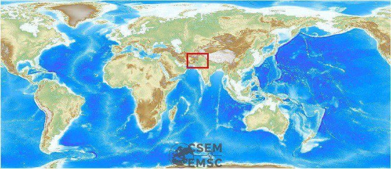 زمینلرزه قدرتمند در پاکستان