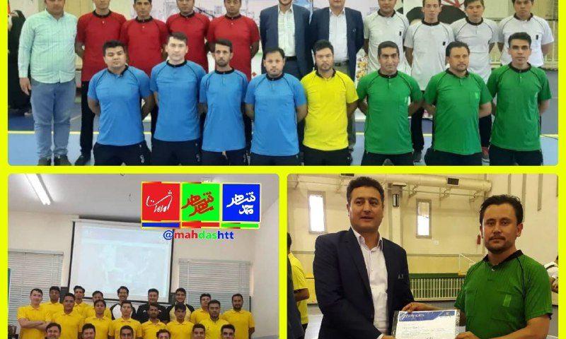 اولین مهاجر استان البرز که حکم داوری فوتبال را از فدراسیون فوتبال افغانستان دریافت کرد