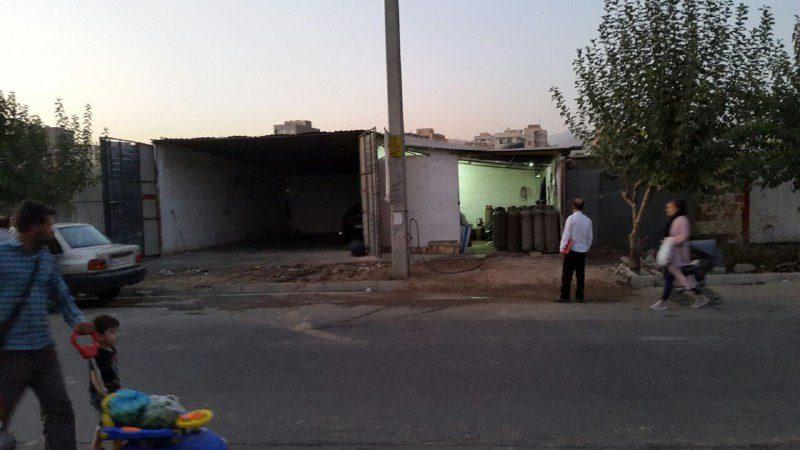 عرضه گاز غیرمجاز و خطرناک در گلشهر