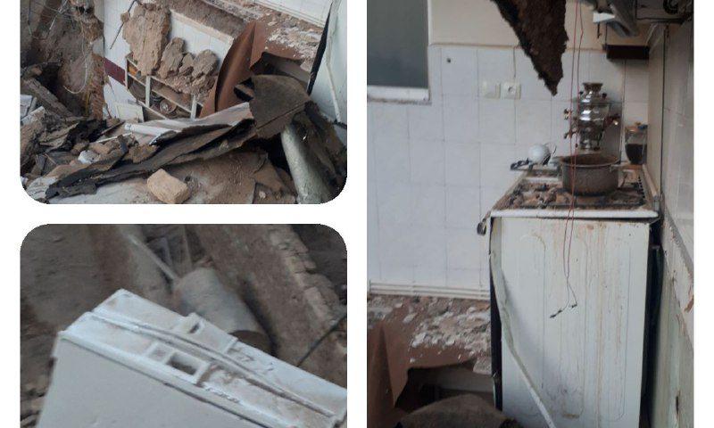 ریزش ساختمان بر اثر گودبرداری غیراصولی