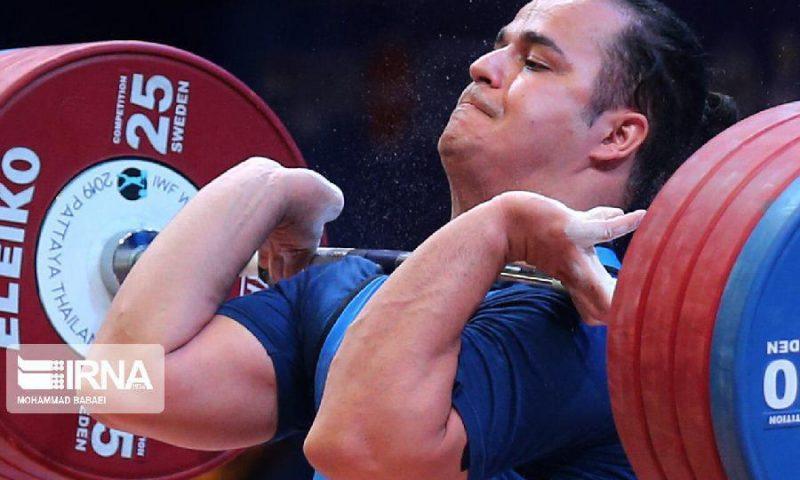 مسابقات وزنه برداری جهان؛ دهدار اولین طلا را دشت کرد