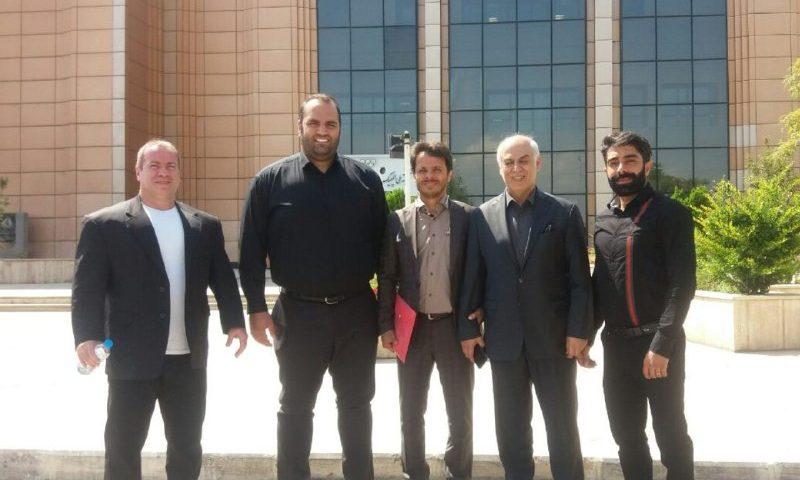 عکس یادگاری بزرگان ورزش ایران