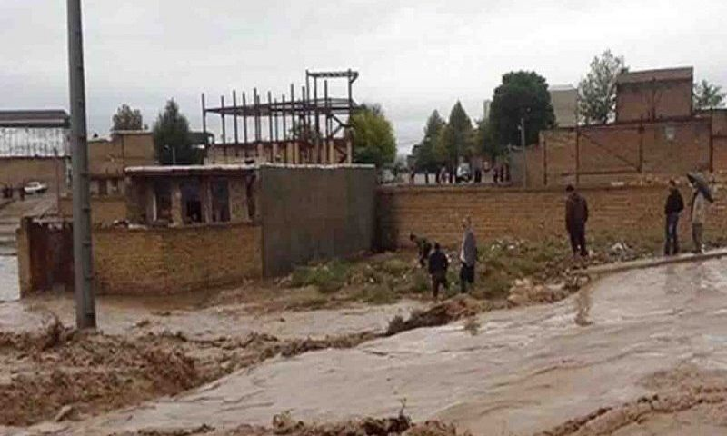 ۲۵ روستای حاشیه شاهرود قزوین در معرض تهدید سیل