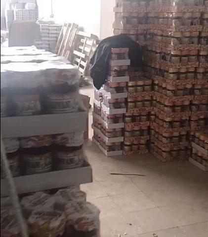 پلمپ انبار مربای تقلبی در شهرستان کرج