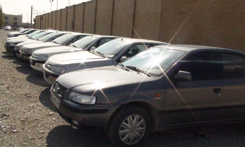 کشف ۲۲ وسیله نقلیه سرقتی در پارکینگ های عمومی استان البرز