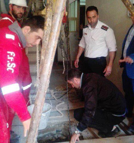 ریزش چاه در فردیس سبب مرگ یک کارگر شد