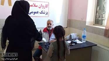 ارائه خدمات درمانی ومشاوره ای به روستاییان اشتهارد
