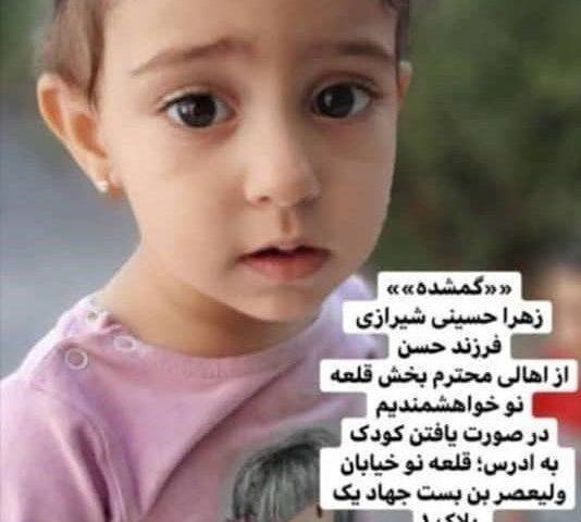 تلاش ناکام سگهای هلال احمر برای یافتن دختر ۲ ساله