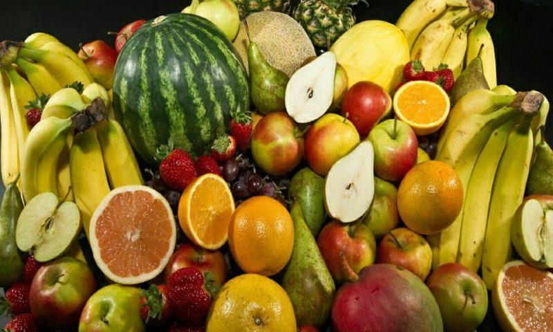 انواع میوه را با غذا نخورید