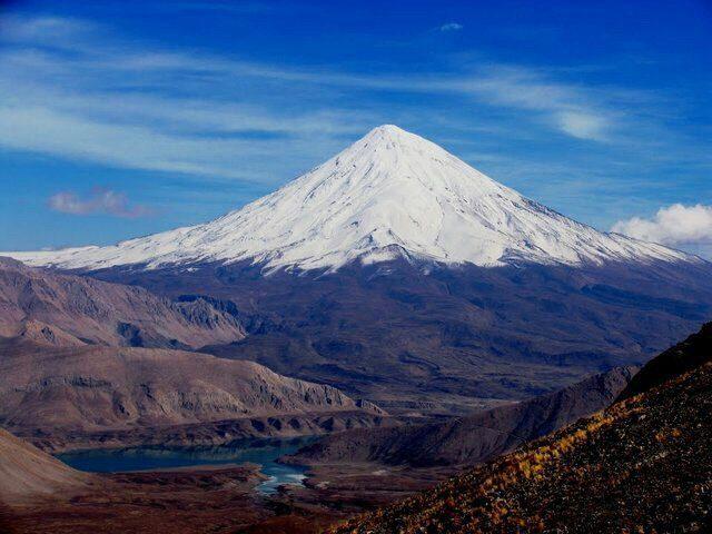 اثرپذیری ۴ استان در صورت فوران آتشفشان دماوند