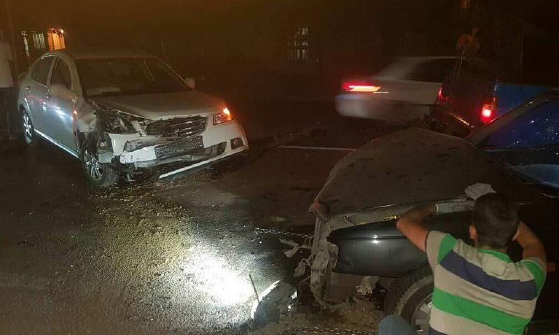 شش مصدوم در حادثه تصادف جاده چالوس