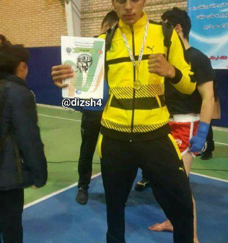 کسب مقام اول مسابقات انتخابی آسیایی (تهران) در رشته کیک بوکسینگ توسط  آقای شایان کلهر