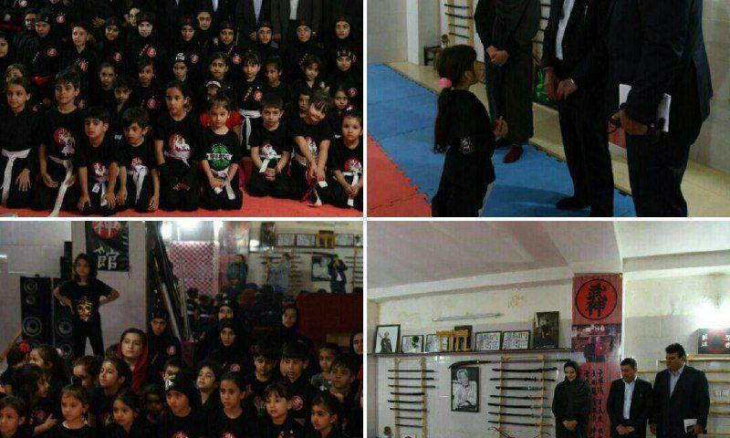 دیدار استاندار البرز با دختران نینجای عصر جدید