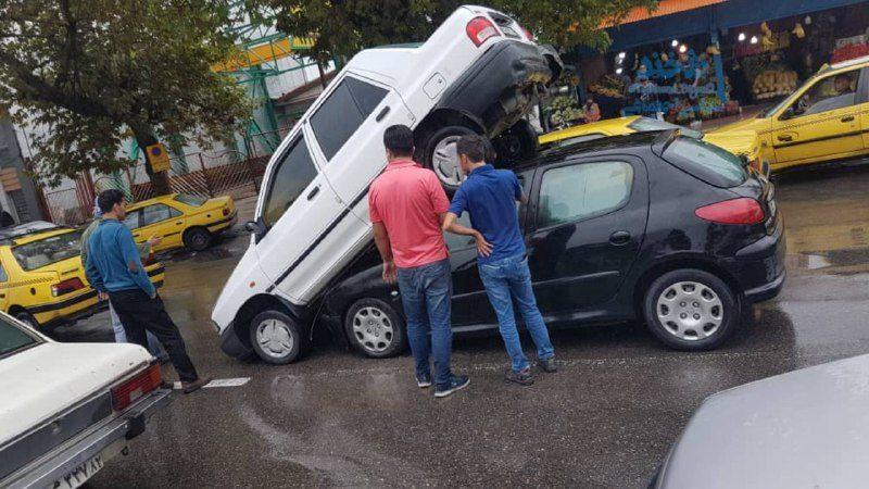 یک تصادف عجیب