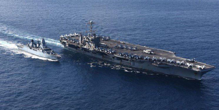 هواپیمابر آمریکایی پیش از اعزام به خلیج فارس دچار نقص فنی شد