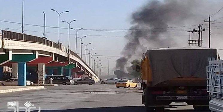 وقوع انفجار در مسیر یک اتوبوس در استان کربلا عراق