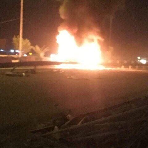 انفجار بمب در ورودی استان کربلا