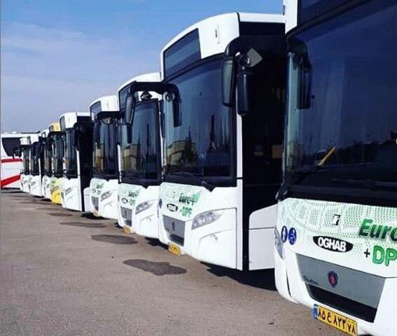 اتوبوسهای کرج آب میروند