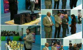 مراسم تجلیل هیئت والیبال استان البرز از برترین های لیگ های استانی و تیم های اعزامی به مسابقات کشوری
