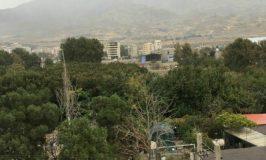 منظره زیبای امروز ،کوچه یکم امیرآباد