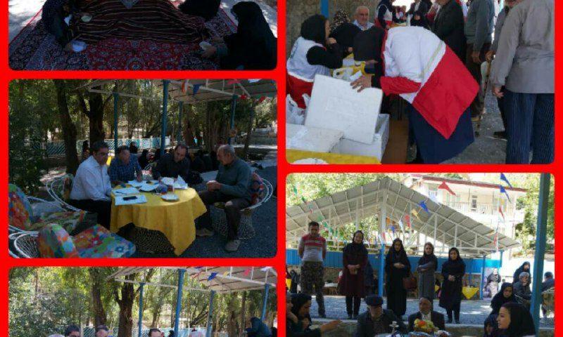 حضور کاروان سلامت در مرکز بهزیستی منطقه گچسر در امام چشمه