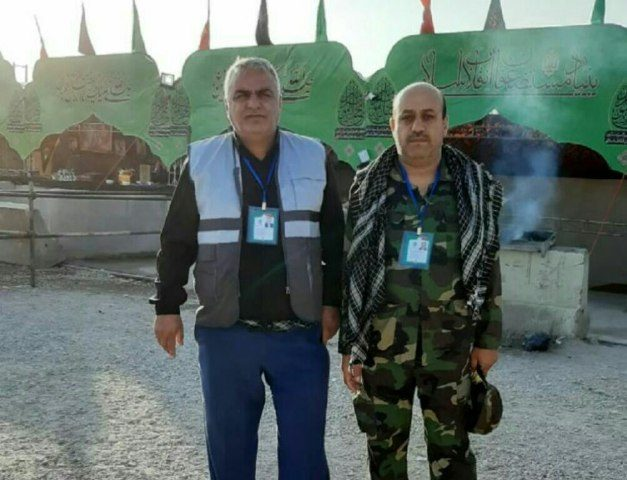 حضور آقایان شاهین غلامی و کامبیز آژیر در مرز مهران جهت خدمت رسانی به زائران گرامی