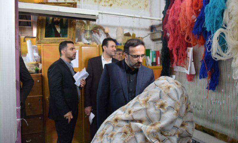 بازدید رئیس کل دادگستری البرز از بند نسوان ندامتگاه فردیس
