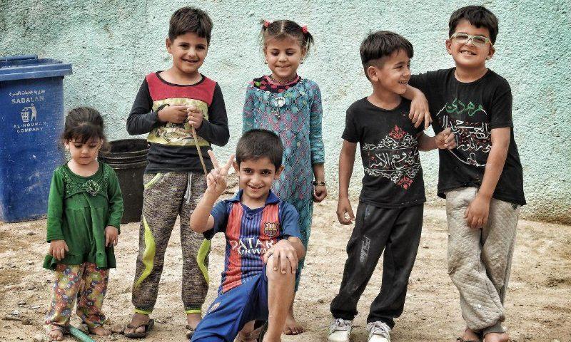 میزبانان کوچک زائرین حسینی در کربلا