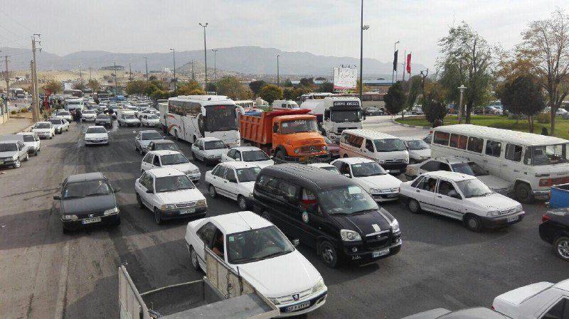 تردد خودروهای شخصی از ۱۵ تا ۳۰ مهرماه در مرزها ممنوع است