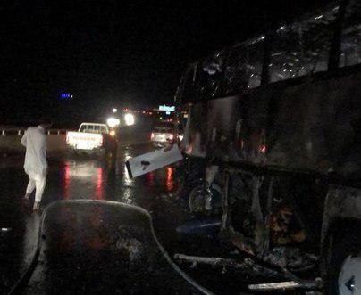 حادثه برای عمرهگذاران در مدینه منوره ۳۰ کشته و ۵ زخمی