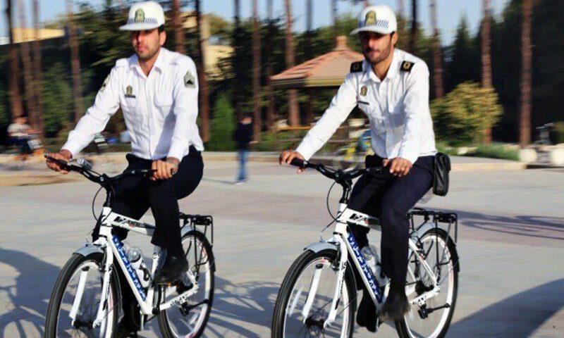 پلیس دوچرخه سوار در قزوین راه اندازی شد