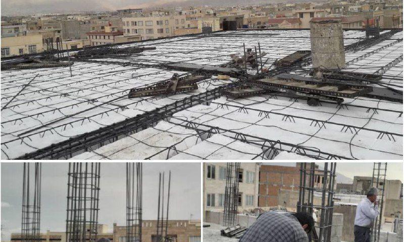 تخریب ساخت و سازهای غیرمجاز مشکین دشت