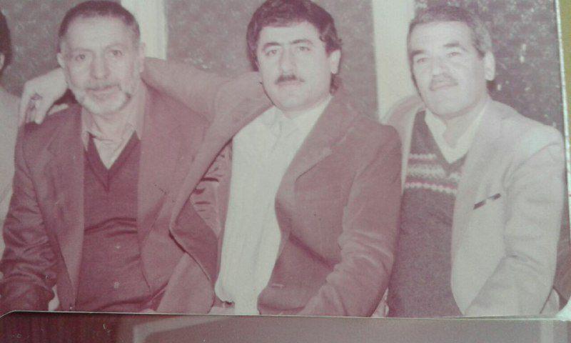 بهمن ۱۳۶۱، یاد یاراناز سمت راست؛ جناب آقای علی محمد ابراهیمی، جناب آقای علیرضا بنائی و شادروان رجب نورمحمدی