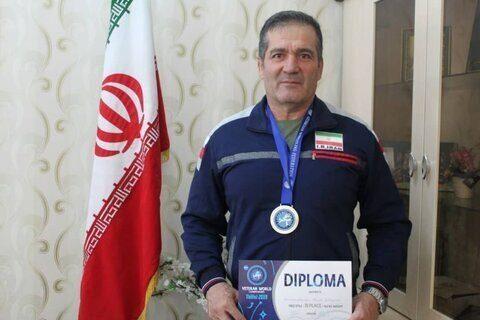 کشتیگیری که پس از شکست اعتیاد نائب قهرمان مسابقات گرجستان شد